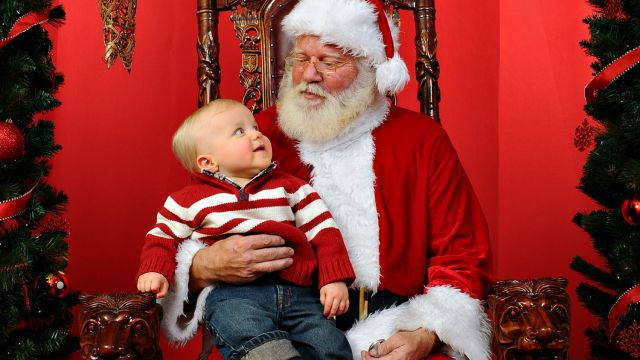 is your child meeting santa for the first time meeting this larger than life character can sometimes be intimidating for your little one - Santa Claus Children