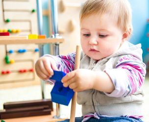 How parents manage their children's stress about starting daycare