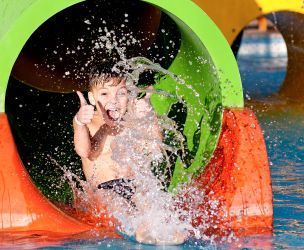 Water slides: Fun for the whole family!