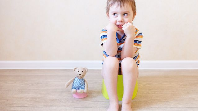 Potty training children with ASD