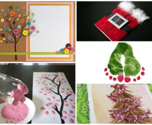 5 beautiful handmade Christmas cards
